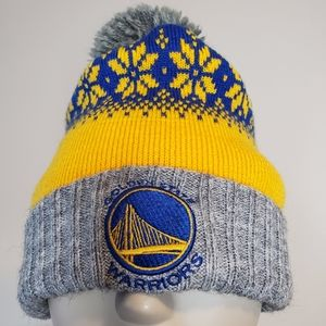 Mitchell & Ness Knitted GS Warriors Beanie